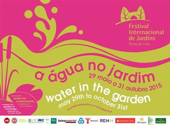 XI Festival Internacional de Jardins de Ponte de Lima - A gua no Jardim